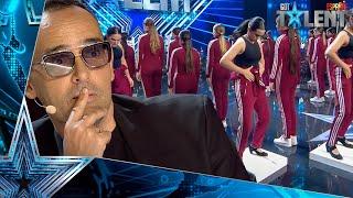 Estas BAILARINAS dejan en shock uniendo POP y FLAMENCO | Audiciones 2 | Got Talent España 2021