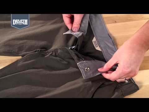 fa4110de57 Duluth Trading DuluthFlex™ Dry on the Fly™ Pants, Shorts & Skorts - YouTube