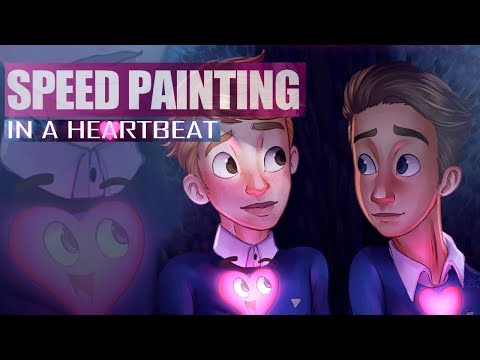 In a Heartbeat  Sherwin and Jonathan  SPEEDPAINT
