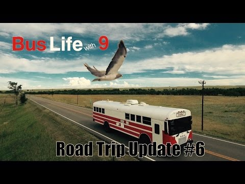 The Open Road | Traveling Across North America | Bus Life