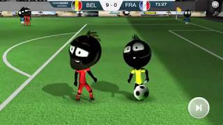 Stickman Soccer 2018 #6 | Android Gameplay | Friction Games