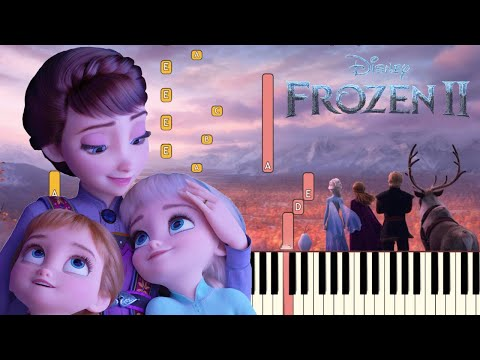 All Is Found (Evan Rachel Wood) - Frozen 2 | Piano Tutorial (Synthesia)