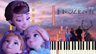 All Is Found  Evan Rachel Wood  - Frozen 2 | Piano Tutorial  Synthesia