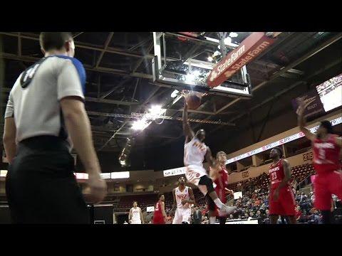 Derek Cooke Jr. throws it down vs. the Vipers