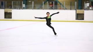 Евгения Медведева на тренировке  (15.01.2017)