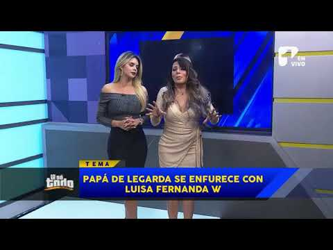 Lo Sé Todo - Papá de Legarda, furioso con Luisa Fernanda W por supuesto video homenaje a si hijo