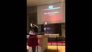 Zapętlaj Eden Duncan-Smith at the Chapel at The United Nations, Bring Back Our Girls | Nicole Duncan-Smith