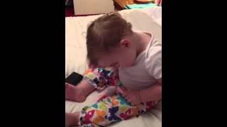 baby dancing to If The Good Die Young tracy lawrence... watch till the end!