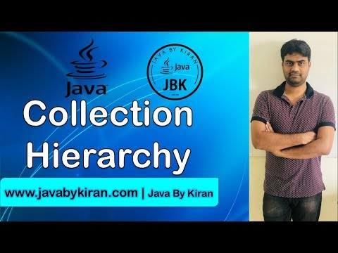 Collection Hierarchy-By Kiran Sir-JAVA By Kiran,Pune