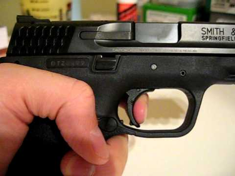 Smith & Wesson M&P9L Burwell Competition trigger job