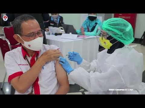 Vaksinasi Covid-19 di Lingkungan Kementerian Pemuda dan Olahraga