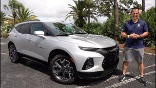 Is the 2021 Chevrolet Blazer RS V6 a true sport SUV you should BUY?
