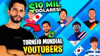 PLAYHARD É O BRASIL?!? VOU PARA UM TORNEIO MUNDIAL DE YOUTUBERS!!