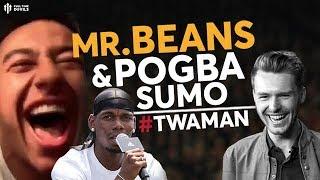 "Jesse Lingard: ""BEANS, BEANS, BEANS!"" #TWAMAN"