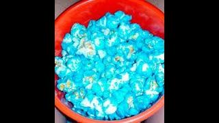 Receitinha: Como fazer pipoca azul (doce)