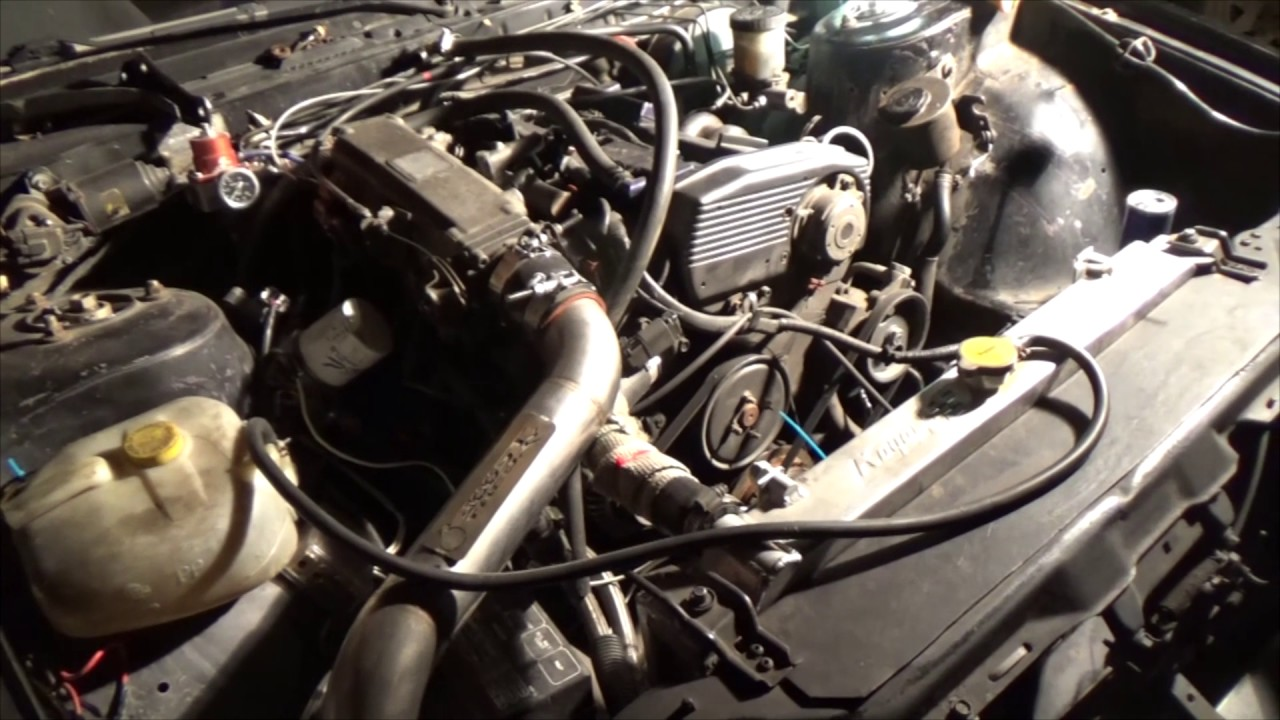 T28 Turbo Install On My Ca18det First Start Youtube Nissan Wiring Diagram