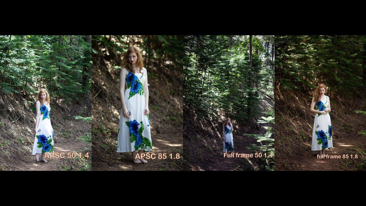 Canon 50mm 1.4 VS 85mm 1.8 on APSC and Full Frame photo samples ...