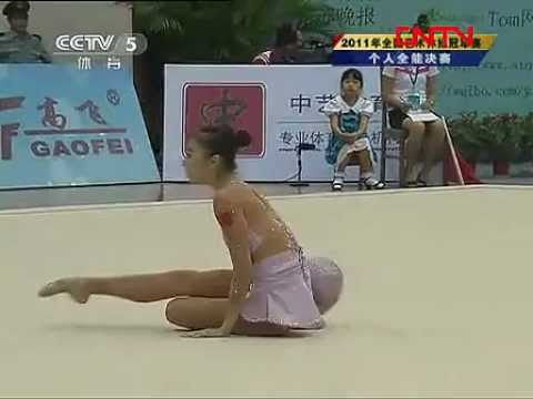 Rhythmic Gymnastics - China National Games 2011 Individual AA
