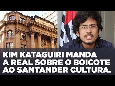 Kim Kataguiri manda a real sobre o boicote ao Santander Cultural