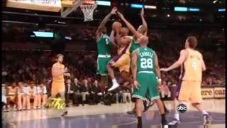 Kobe Bryant 36 points vs celtics (NBA Finals Game 3 2008)