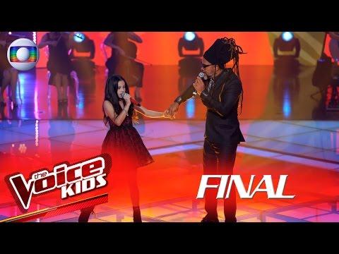 Brown canta 'Anjo da Guarda' com Valentina Francisco no The Voice Kids Brasil - Final