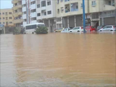 Casablanca Morocco flooding