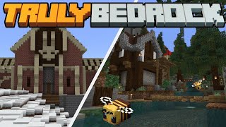 Base Upgrades & the Evil Mansion of Doom! Truly Bedrock SMP | Season 1