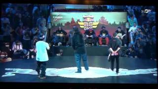 Red Bull BC One 2011 MOSCOW. FINAL BATTLE ROXRITE(USA) VS LIL G(VEN)