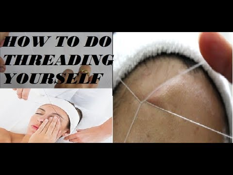 Diy how to do threading yourself ii beauty and creativity youtube diy how to do threading yourself ii beauty and creativity solutioingenieria Image collections
