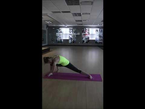 Sun Salutations and Standing Strength shuffle video)
