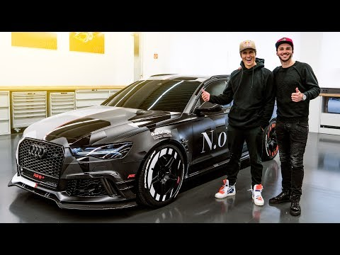 Jon Olsson's ABT Audi RS6+   Jetzt knallt's richtig!   Daniel Abt