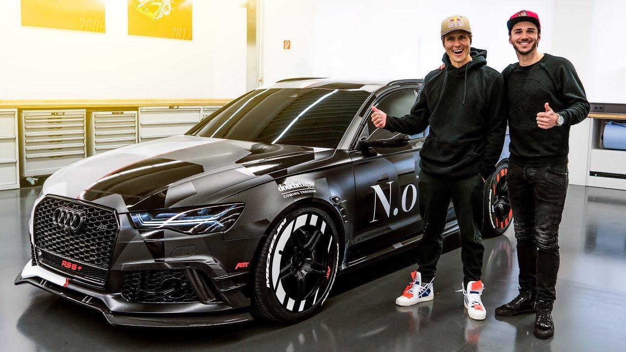 Jon Olsson S Abt Audi Rs6 Jetzt Knallt S Richtig