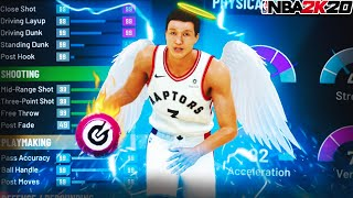 THE BEST *ONE OF A KIND* POINT GUARD BUILD IN NBA 2K20!! The Best Player Build in 2K20!