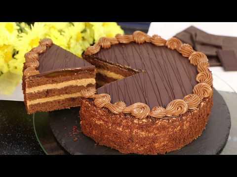 """Шоколадный Торт """"Прага""""/Классика/""""Пражский"""" /Шоколадный Торт/пошаговый рецепт"""
