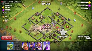 Clash of Clans: Attack #18 - Valkyrie only attack