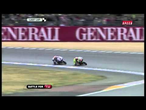 Maverick Viñales vs Nico Terol MotoGP 125cc French GP 2011