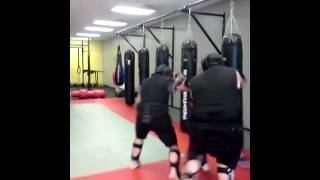 Mission MMA Krav Maga 2 On 1 S