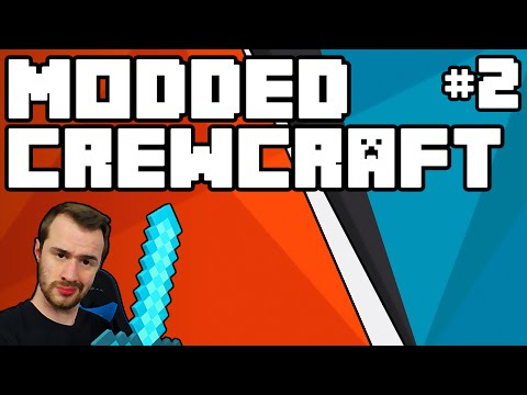 Minecraft: Modded Crewcraft Episode 2 - Home Building + Designing with an Expert