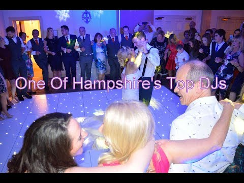 One Of Hampshire's Top Wedding DJs - DJ Martin Lake
