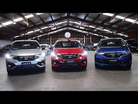 2020 Honda Jazz Model Range Overview
