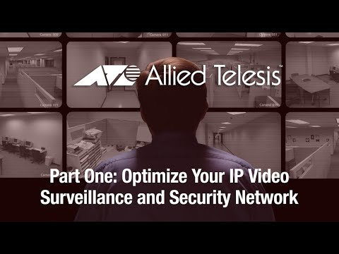 MAXIMIZE YOUR INVESTMENT IN IP SURVEILLANCE