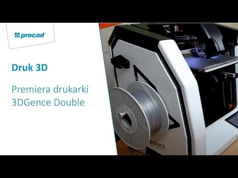 Premiera drukarki 3DGence Double