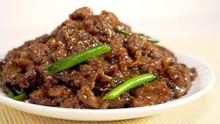 Монгольская говядина / Mongolian beef как в китайском ресторане. Рецепт от Всегда Вкусно.