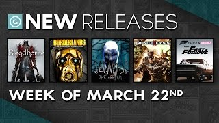 Bloodborne, Borderlands: The Handsome Collection, and Pillars of Eternity - New Releases