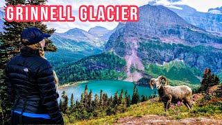Hiking GLACIER National Park (Montana)  ~ Grinnell Glacier & Highline Trail