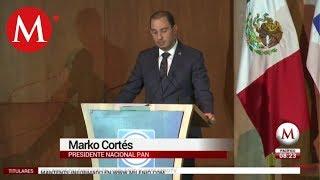 Martha Erika venció al sistema: Marko Cortés
