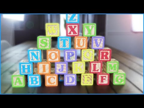 Learning ABC Letter And Phonics Using ABC Wood Blocks