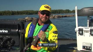 The Bass Forecast for Timmy Horton Outdoors