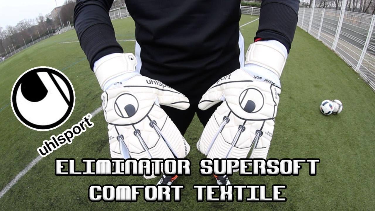 249f6b8cec6 Test   Uhlsport - Eliminator SuperSoft Comfort Textile - YouTube