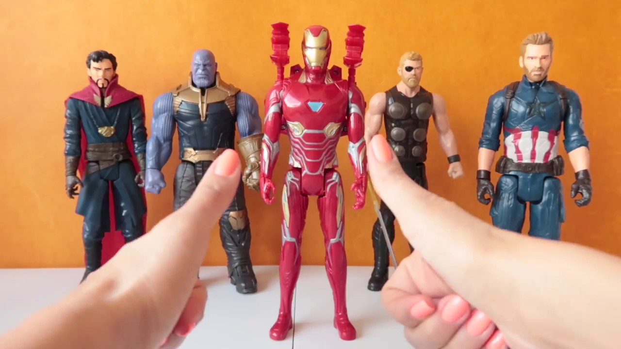 "Marvel Vengadores Infinito Héroe de la guerra Titan Power FX 12/"" Iron Man Figure Nuevo"